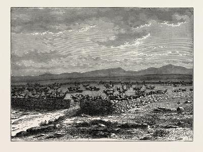 A South African Cattle Kraal. South Africa--Giclee Print
