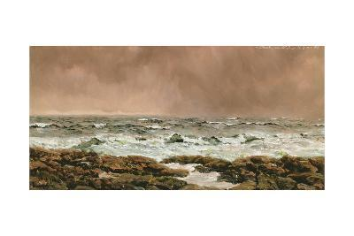 A Southerly on the Clyde, 14th June 1886-John Brett-Giclee Print