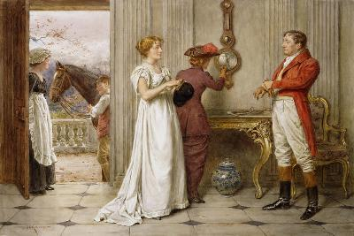 A Southerly Wind and a Cloudy Sky-George Goodwin Kilburne-Giclee Print