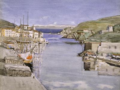 A Southern Port-Charles Rennie Mackintosh-Giclee Print