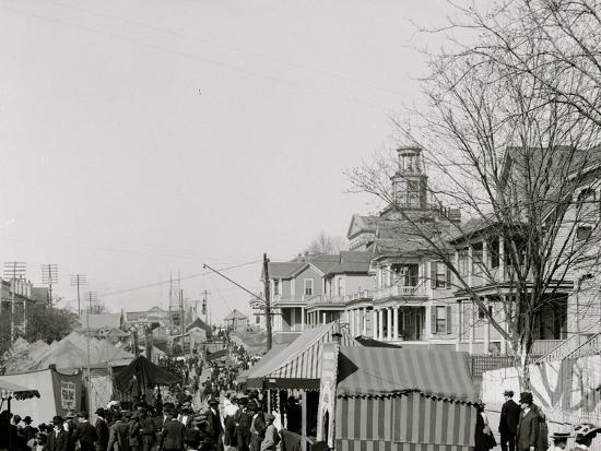 A Southern Street Fair, Vicksburg, Miss.--Photo