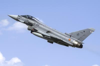 A Spanish Air Force Ef-2000 Typhoon Taking Off-Stocktrek Images-Photographic Print