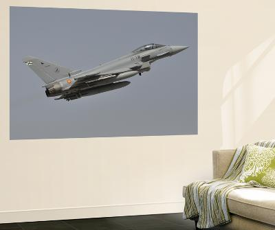 A Spanish Air Force Eurofighter Typhoon 2000 Taking Off-Stocktrek Images-Wall Mural