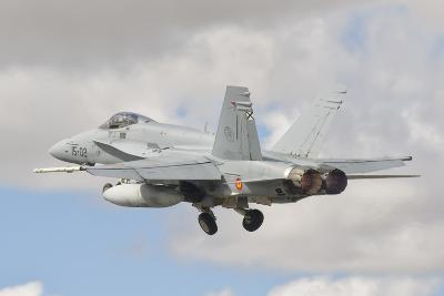 A Spanish Air Force F/A-18C During Tlp in Spain-Stocktrek Images-Photographic Print