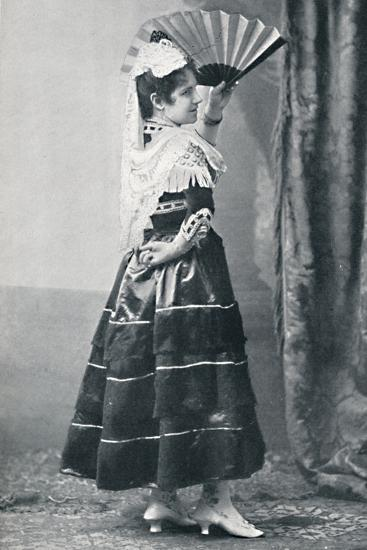 A Spanish dancer, 1912-Unknown-Photographic Print