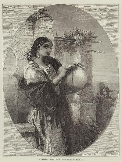 A Spanish Gipsy-Francis William Topham-Giclee Print