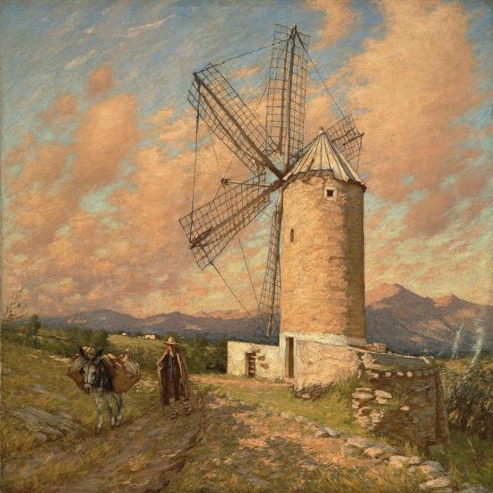 A Spanish Mill-Henry Herbert La Thangue-Giclee Print