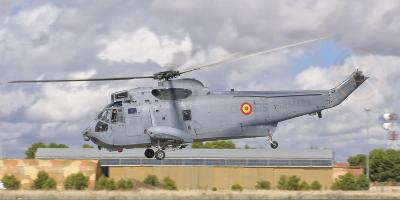 A Spanish Navy Sh-3D Helicopter-Stocktrek Images-Photographic Print