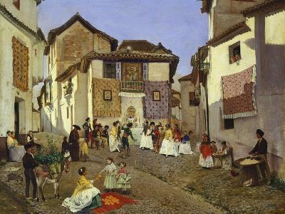 A Spanish Wedding Ceremony, 1873-Placido Frances y Pascual-Giclee Print