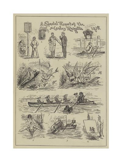 A Special Report of the Henley Regatta, 1878--Giclee Print