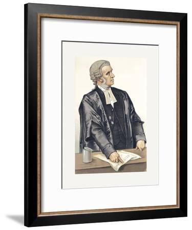 A Splendid Advocate-Spy (Leslie M. Ward)-Framed Premium Giclee Print