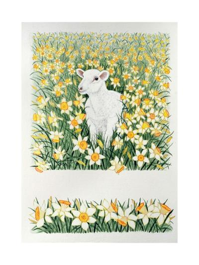 A Spring in the Step-Pat Scott-Giclee Print