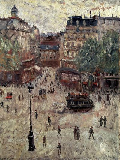 A Square in Paris, 1907-Georges Leon Dufrenoy-Giclee Print
