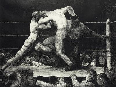 A Stag at Sharkey's-George Wesley Bellows-Giclee Print
