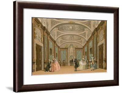 A Stage Scene--Framed Giclee Print