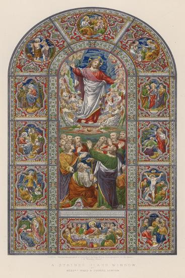 A Stained Glass Window by Messrs Ward and Hughes, London--Giclee Print