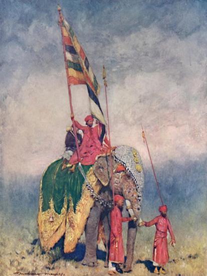 'A Standard-bearer', 1903-Mortimer L Menpes-Giclee Print