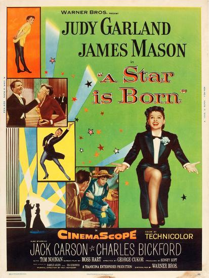 Image result for A Star is Born 1954 poster
