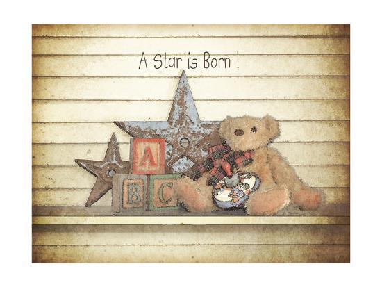 A Star Is Born-Jo Moulton-Art Print