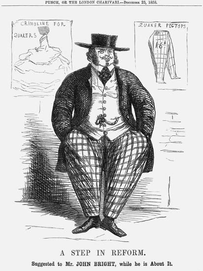 A Step in Reform. Suggested to Mr. John Bright, While He Is About It, 1858--Giclee Print