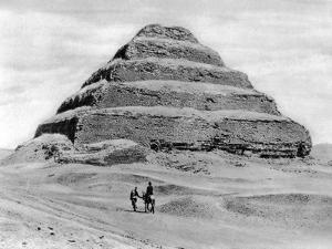 A Step Pyramid Outside Cairo, Egypt, C1920S