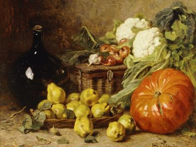 A Still Life with a Wine Flagon-Eugene Claude-Giclee Print