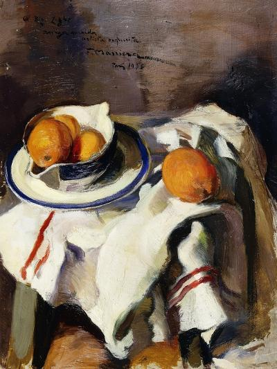 A Still Life with Oranges-Masriera F.-Giclee Print