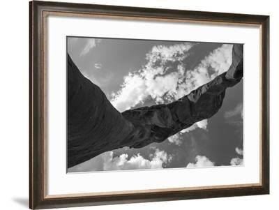 A Stone Arch in Arches National Park, Utah-Luis Lamar-Framed Photographic Print