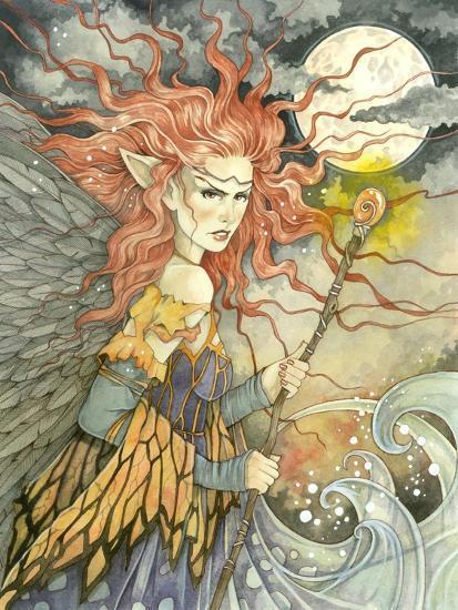 A Storms Brewing-Linda Ravenscroft-Giclee Print