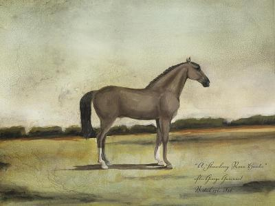 A Strawberry Roan Hunter-Naomi McCavitt-Art Print