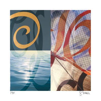 A Streak of Velocity-Scott Sandell-Giclee Print