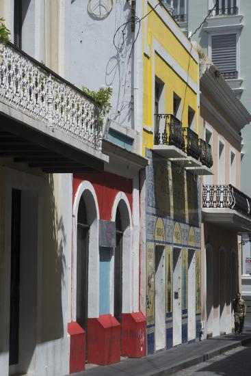 A Street from the City San Juan with the Architectural Design in on the Main Buildings-Natalie Tepper-Photo