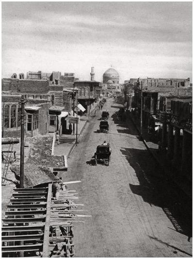 A Street in Baghdad, Iraq, 1925-A Kerim-Giclee Print