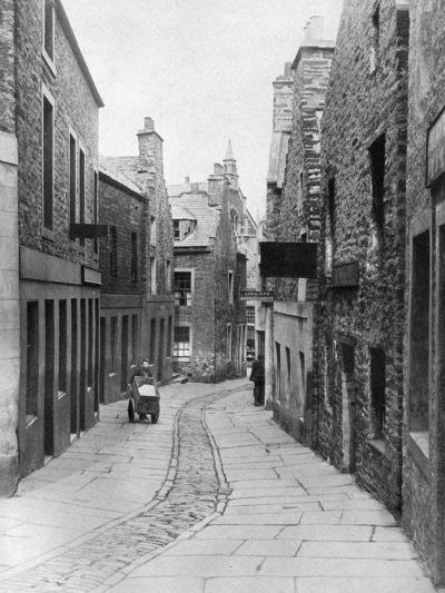 A Street in Stromness, Orkney, Scotland, 1924-1926-Thomas Kent-Giclee Print