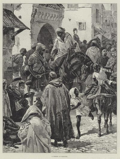 A Street in Tangier-William Heysham Overend-Giclee Print
