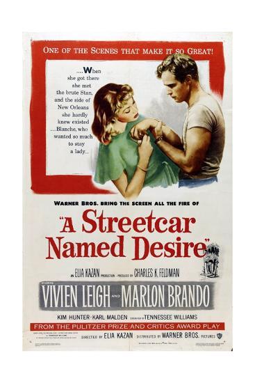 A Streetcar Named Desire, 1951, Directed by Elia Kazan--Giclee Print