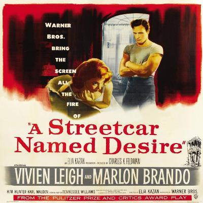 A Streetcar Named Desire, 1951--Giclee Print
