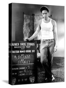 A Streetcar Named Desire, Marlon Brando, 1951.