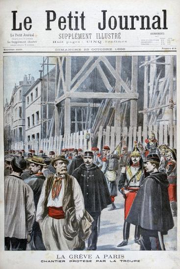 A Strike in Paris, 1898-Henri Meyer-Giclee Print