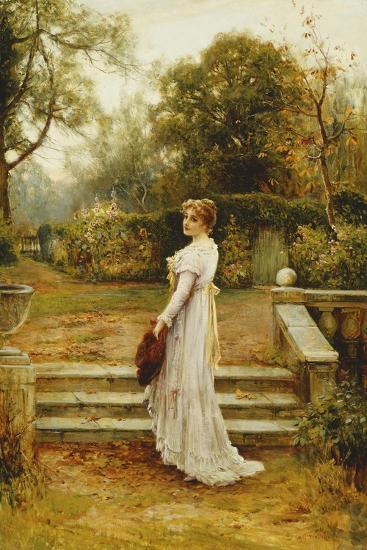 A Stroll in the Garden-Ernest Walbourn-Giclee Print