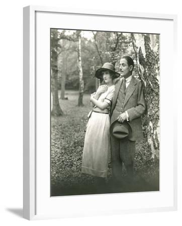 A Stroll in the Park--Framed Photo