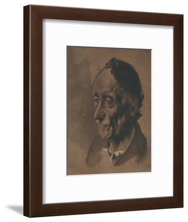 'A Study', c1900-Adolph Menzel-Framed Giclee Print