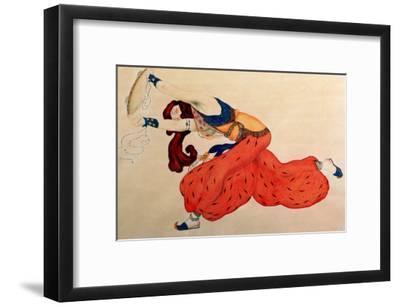 A Study for a Figure of a Dancer for Scheherazade-Leon Bakst-Framed Giclee Print