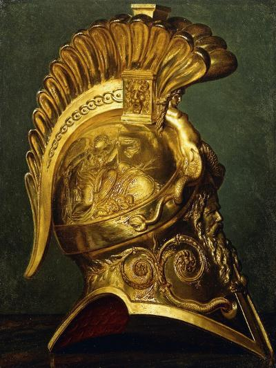 A Study for a Neo-Classical Helmet--Giclee Print