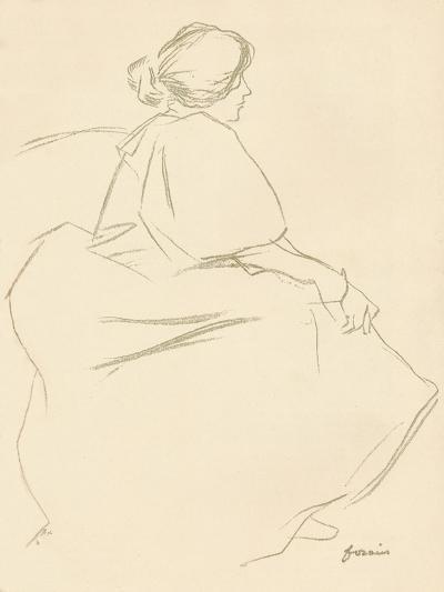 A Study in Crayon, C1872-1898, (1898)-Jean Louis Forain-Giclee Print