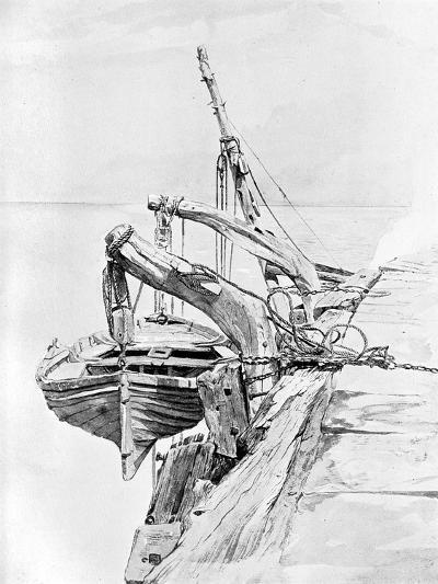 A Study in Pencil and Water Colour, 1858-Charles Napier Hemy-Giclee Print