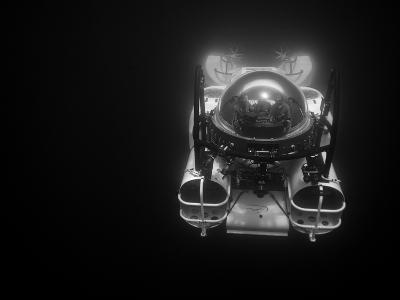 A Submarine Takes Tourists Down 1500 Feet to See the Depths-Ben Horton-Photographic Print