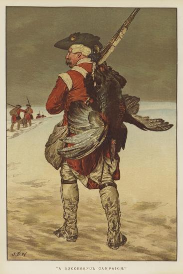 A Successful Campaign-John Dawson Watson-Giclee Print
