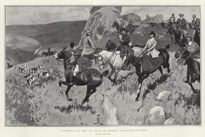 A Successful Day with the Devon and Somerset Staghounds on Exmoor-Frank Craig-Giclee Print