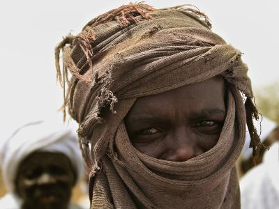 A Sudan Liberation Army, Sla, Fighter from the Faction of Abdelwahid Elnur--Photographic Print